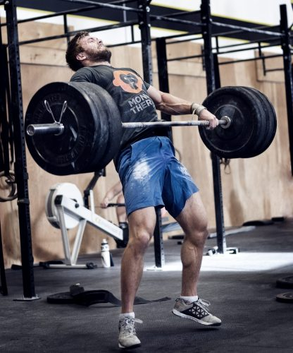 CrossFit Games athlete Alexandre Caron