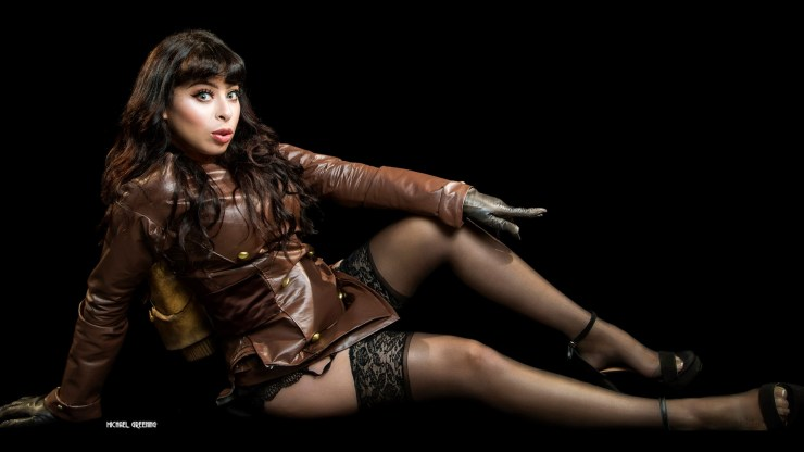 Betty Page Rocketeer earns the Photographer of the Day for Beauty honors for Michael Greening.