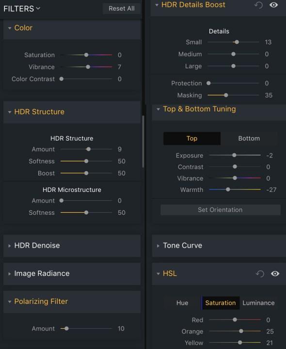 combining power Aurora HDR Luminar