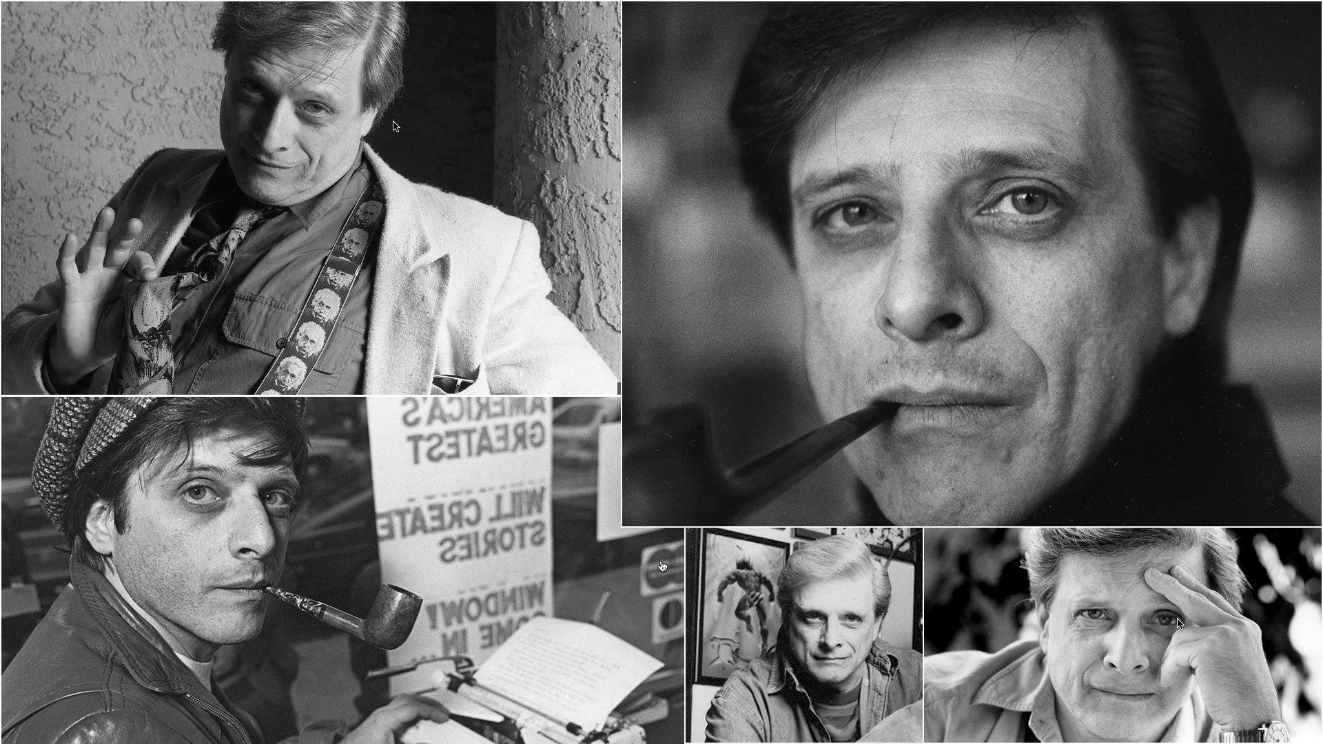 Harlan Ellison, writer, on getting paid. Harlan died on June 28, 2018. He was 84.