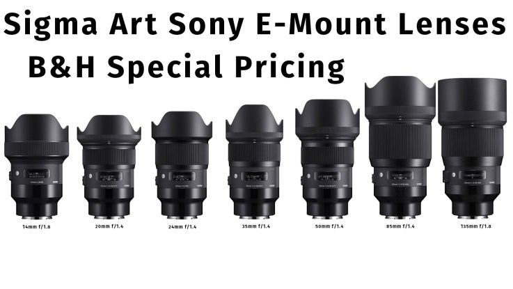 New Sigma Art Series lenses for Sony E-Mount Mirrorless cameras