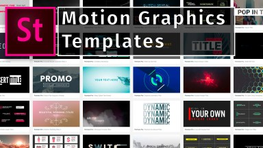 Motion graphics templates: Downloading MOGRTs from Adobe Stock