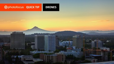Quick Tip: Slowing down your panning speed can reduce jitter in your drone videos