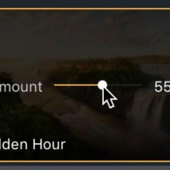 Aurora HDR 2019 Looks amount