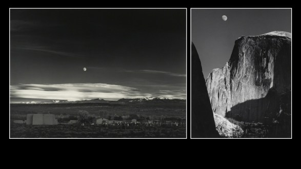 Ansel Adams photos: Moonrise, Hernandez, NM and El Capitan.