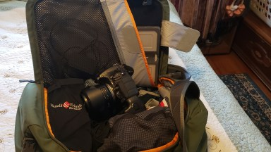 How to travel light AND have your camera gear too!