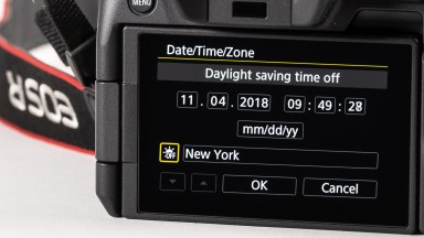 """Your camera needs to """"fall back"""" to Standard time."""