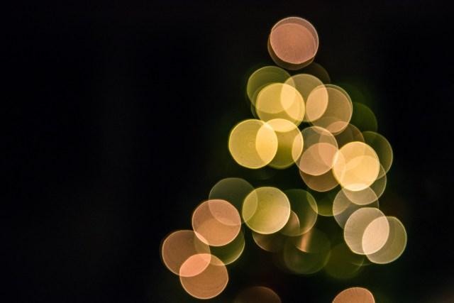 christmas, christmas lights, tree lights
