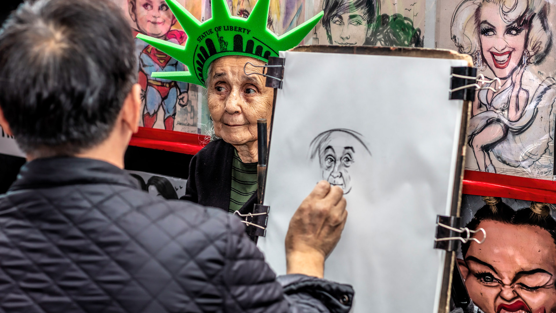 """Ian Lewry's """"Sitting for an Artist in NYC"""" earns him the honor of being Photographer of the Day on Photofocus."""