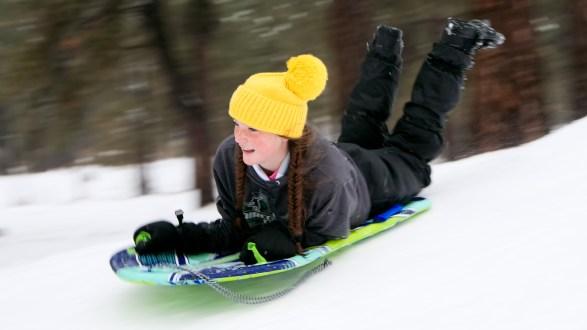 How to photograph sledding (comprehensive)
