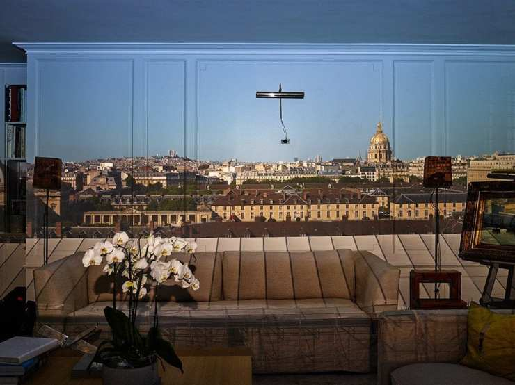 2015 Camera obscura view of Paris looking towards Montmartre