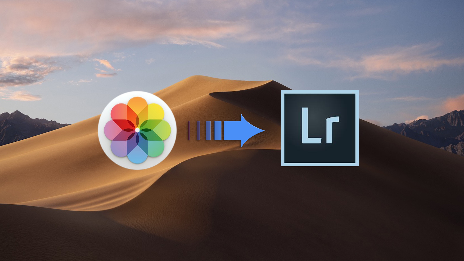 Photos to Lightroom banner image