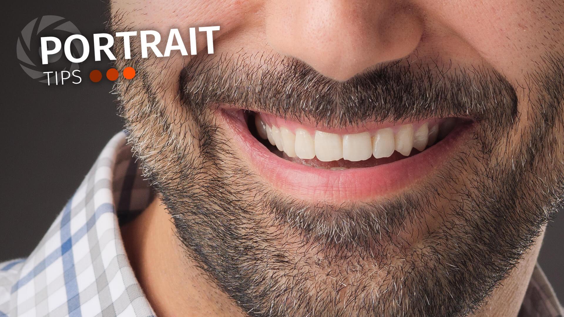 Portrait Tips: Teeth whitening in Lightroom (easy does it!)
