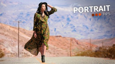 Portrait Tips: Utilize graduated filters to finish your portraits
