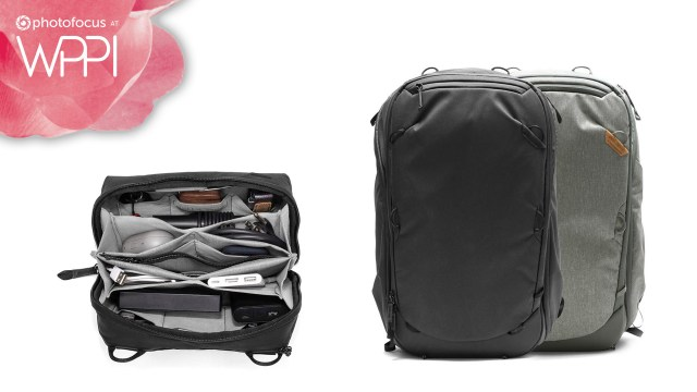 Talking the Travel Backpack 45L and Tech Pouch with Peak Design