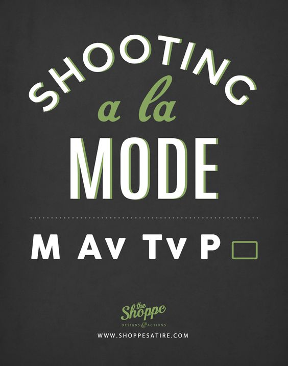 Shooting a la mode by the shoppe designs