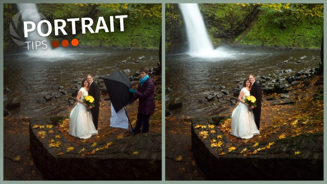 Portrait Tips: Waterfalls and speedlights