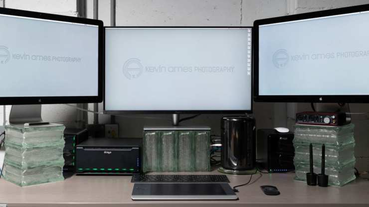 My Drobo 8D fits nicely on my desktop.