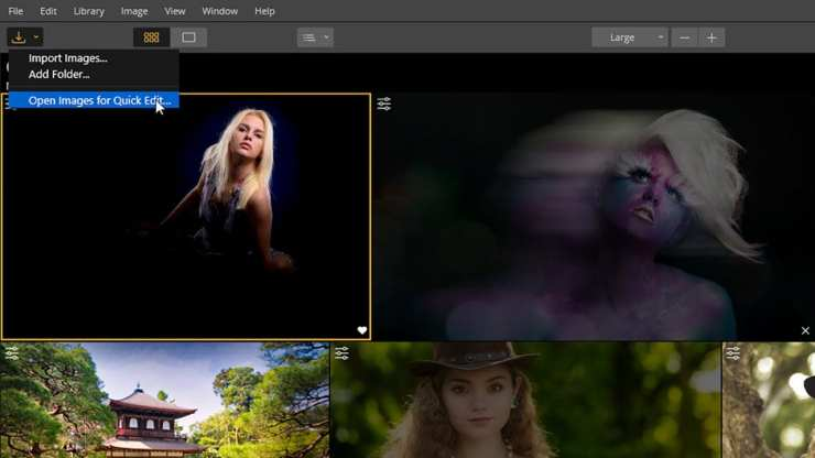 Open Menu-Open image for quick edit