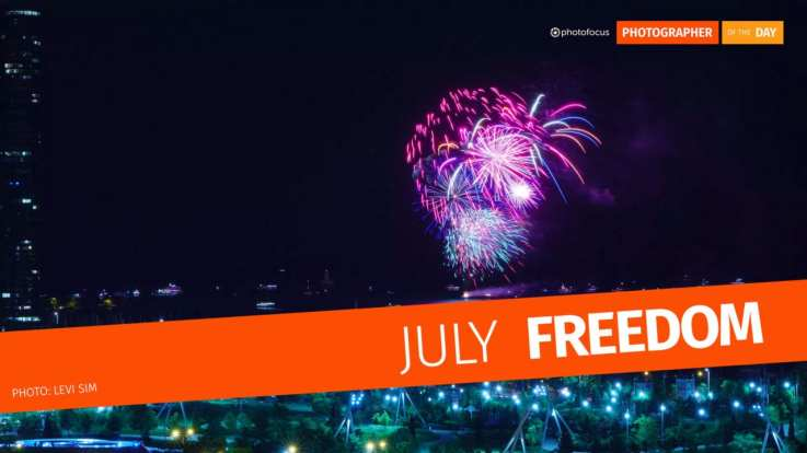 Celebrate freedom with July's Photographer of the Day
