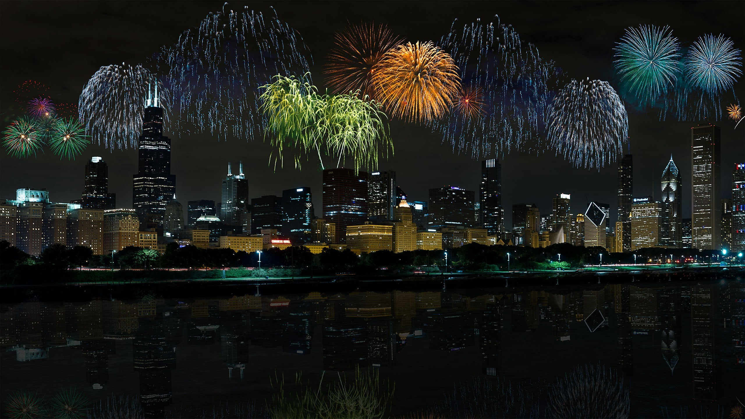 You photographed fireworks – now what?