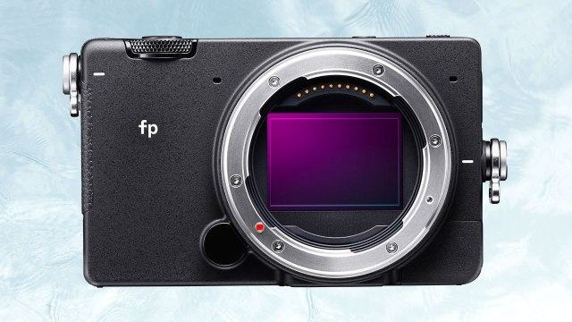 Sigma fp gets major firmware update