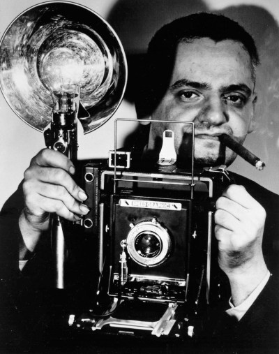 Weegee (Arthur Fellig) Self portrait