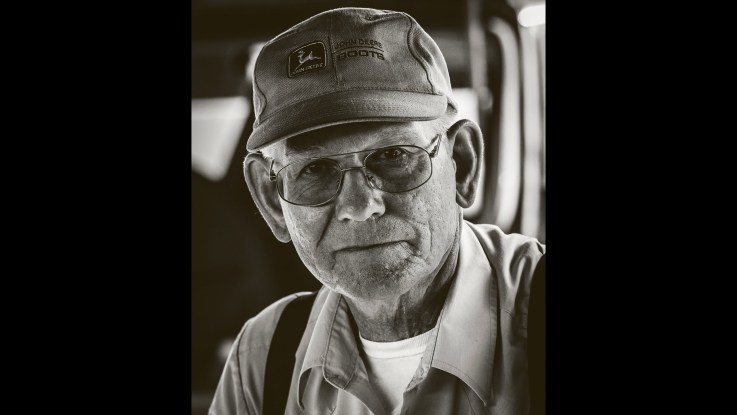 "Photofocus Photographer of the Day Michael Hutchinson with ""Virginia Farmer ""."