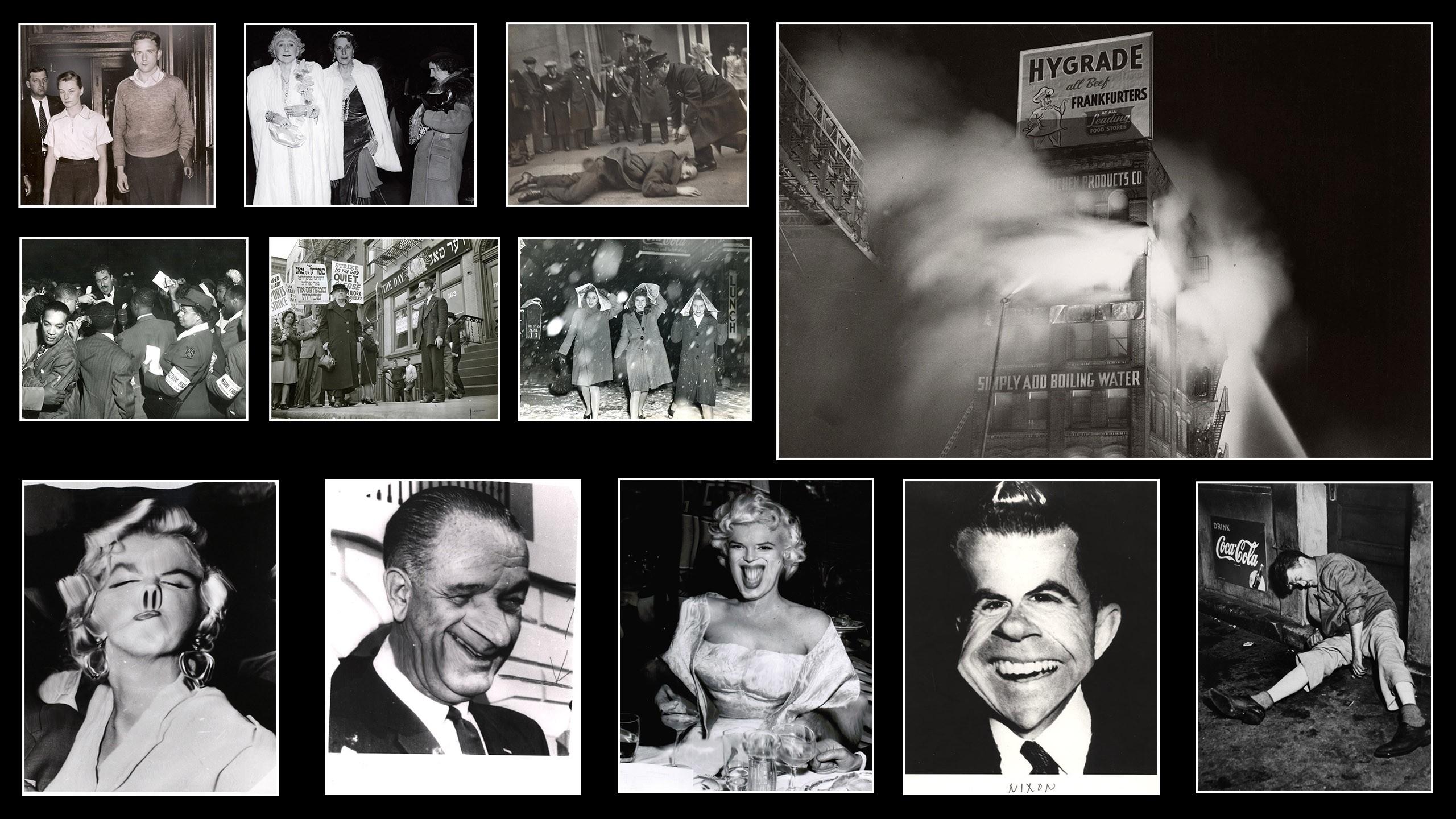 On Photography: The work of Weegee a.k.a. Arthur Fellig