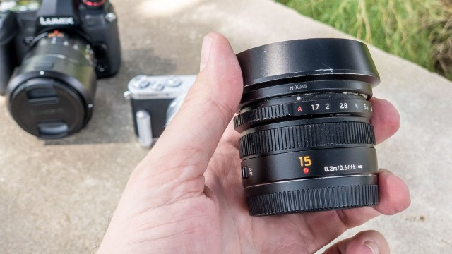 Summilux 15mm lens provides rich, warm colors for Lumix photographers