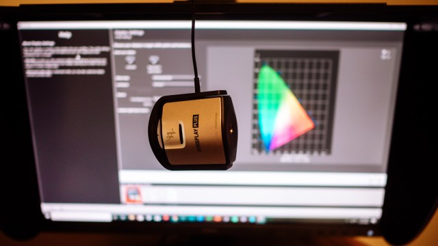 Calibrating with X-Rite and BenQ