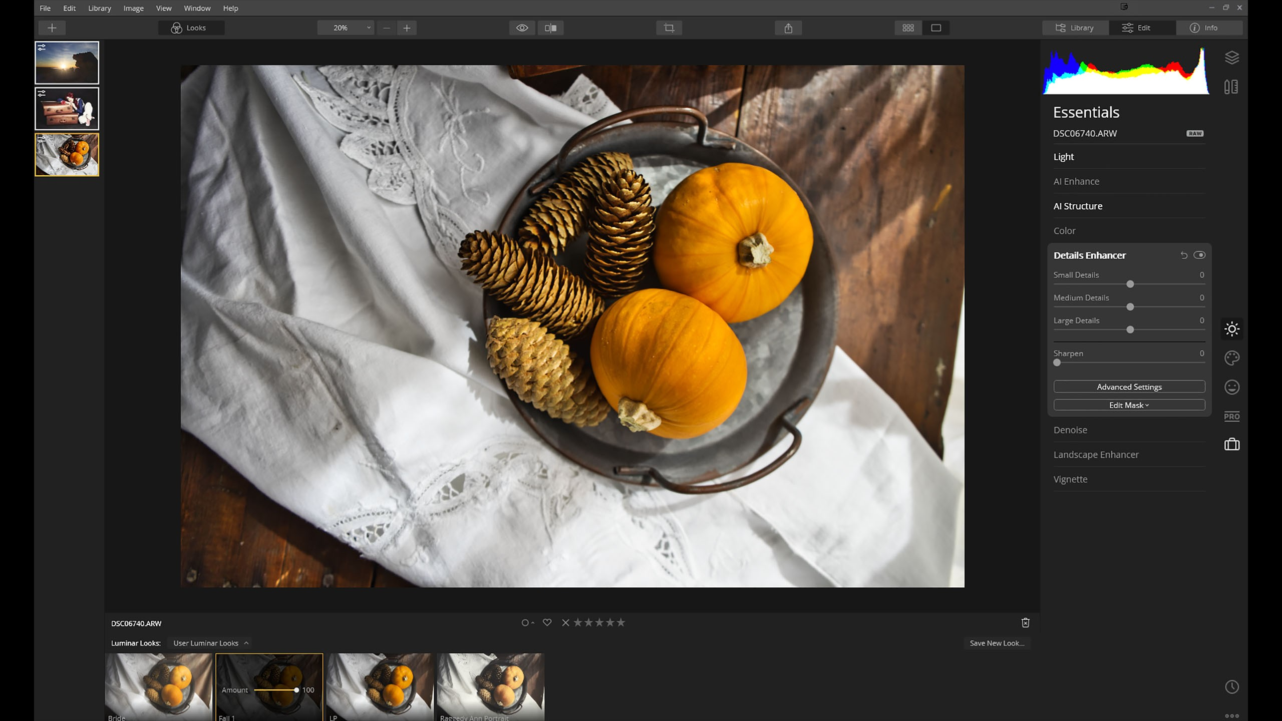 My first look at Luminar 4