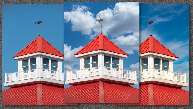 Luminar 4 sky replacement for real estate photography