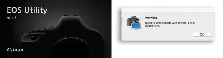Canon EOS Utility 3 no longer runs under macOS Catalina 10.15.2