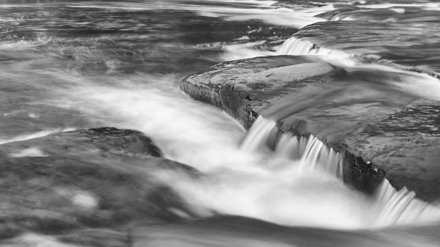 Processing an Olympus Live ND image with Nik Silver Efex Pro 2