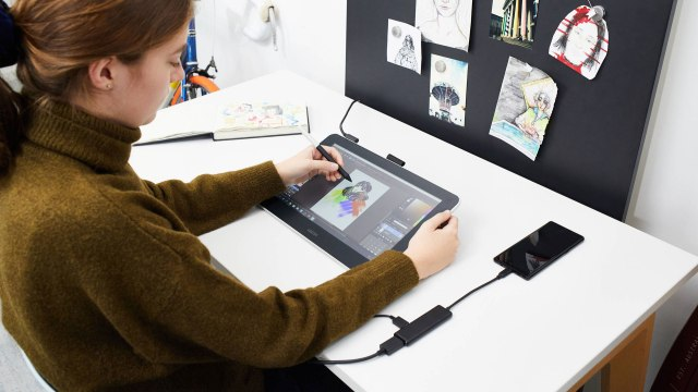 Wacom introduces Wacom One pen display for creative beginners