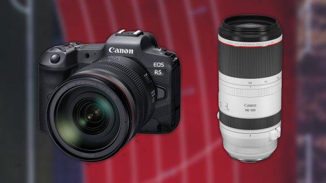 Canon announces development of R5 mirrorless camera, several RF lenses