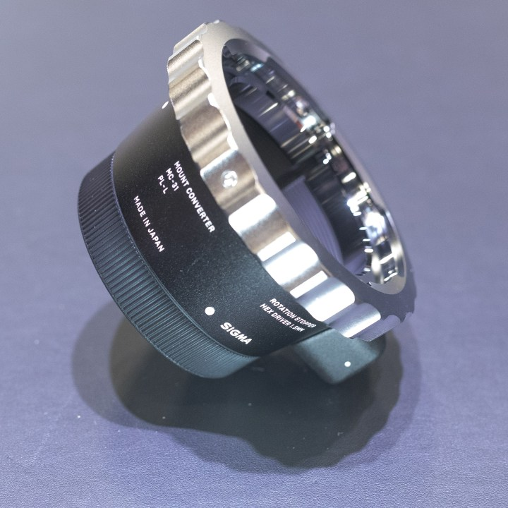 Sigma's new lens adapter