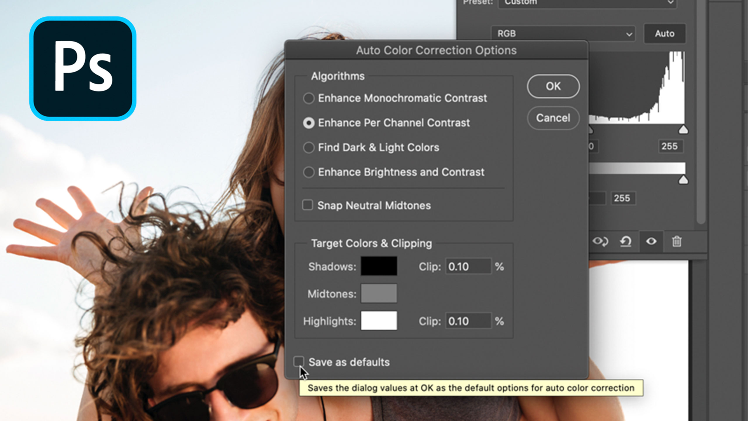 Photoshop's undocumented feature for Levels and Curves