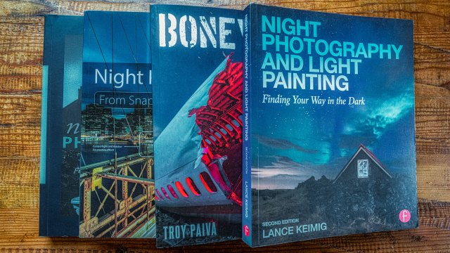 Best how-to night photography books