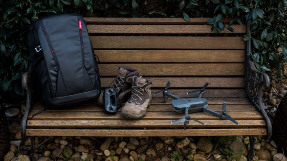 Have boots and bag will travel: The OneMo backpack