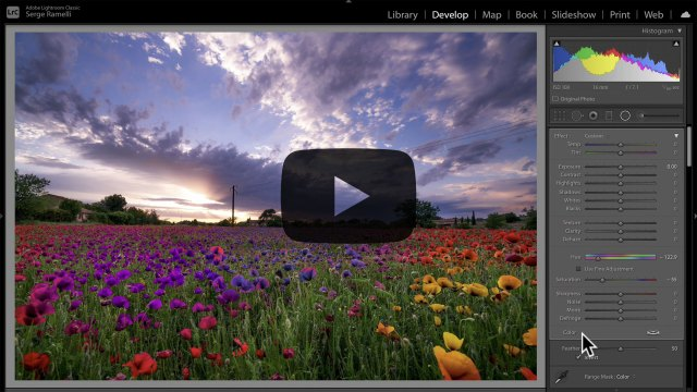 Change local colors with this new Lightroom Classic feature