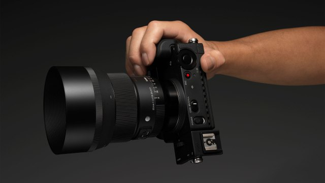 Sigma unveils new 85mm f/1.4 for mirrorless