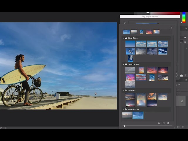 Adobe previews Sky Replacement tool for Photoshop