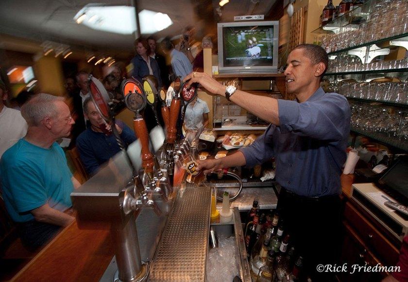 Rick Friedman Barak Obama