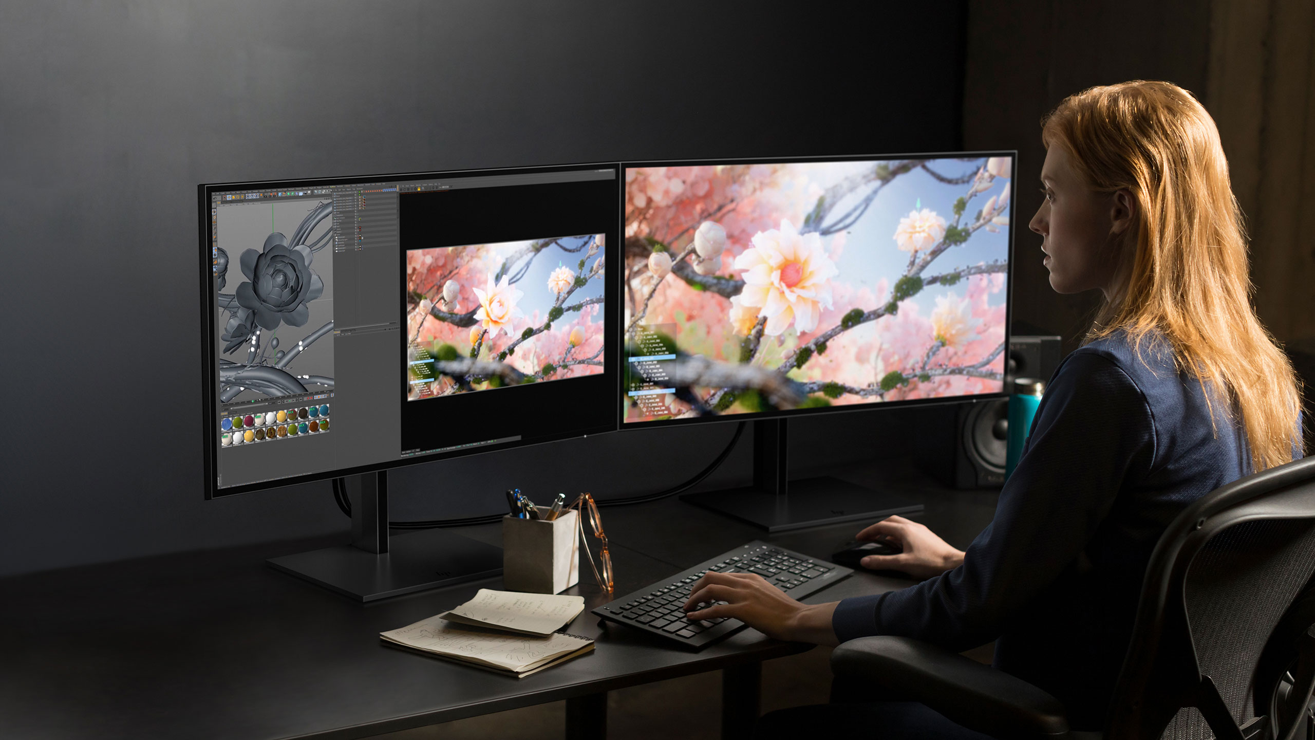 HP focuses on seamless color accuracy with new DreamColor Displays