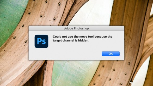 Can't use your Photoshop Move tool?