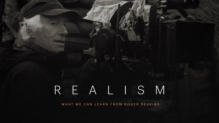 Lessons on realism from cinematographer Roger Deakins
