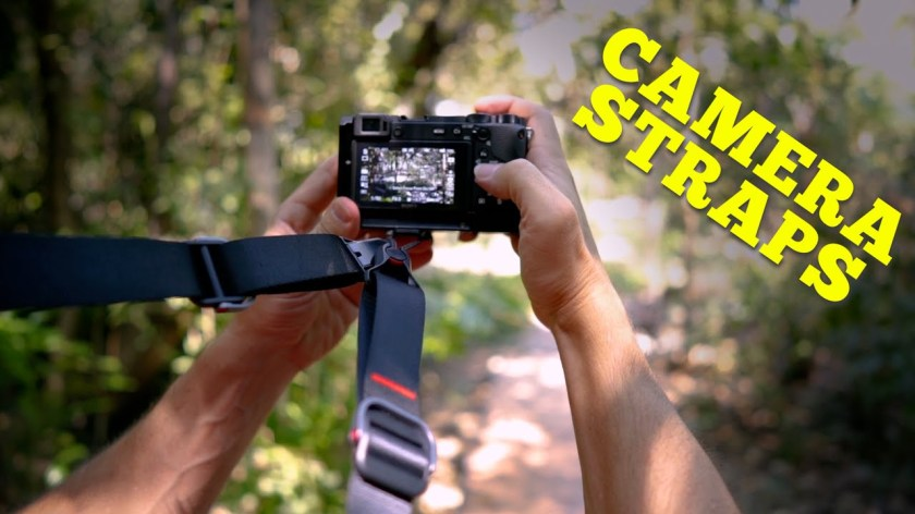 Which Camera Strap is best for you?   4 different types! - youtube