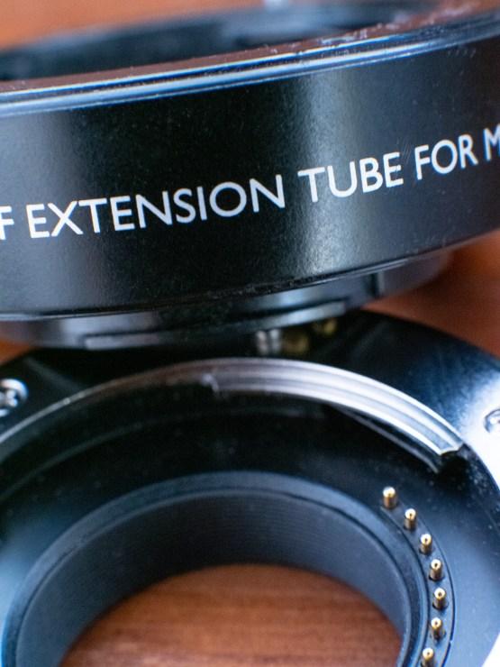 extension tube photo illustration